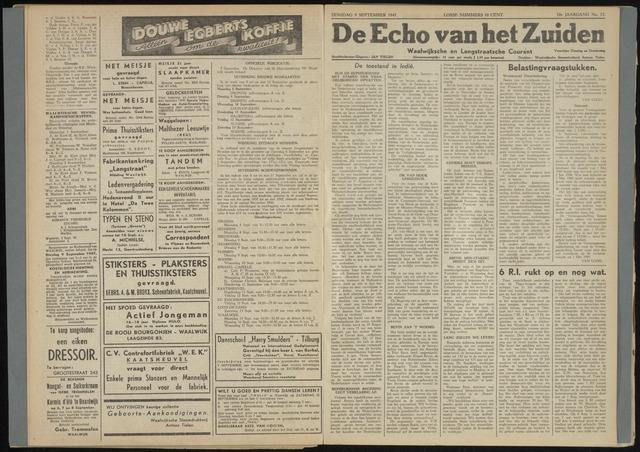 Echo van het Zuiden 1947-09-09