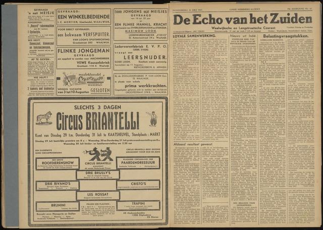 Echo van het Zuiden 1947-07-31
