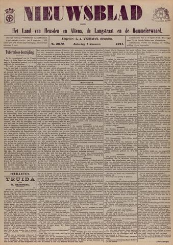 Nieuwsblad het land van Heusden en Altena de Langstraat en de Bommelerwaard 1911-01-07