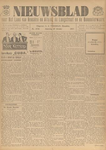Nieuwsblad het land van Heusden en Altena de Langstraat en de Bommelerwaard 1917-10-27
