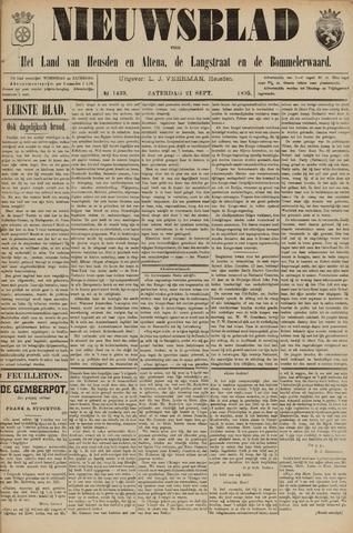 Nieuwsblad het land van Heusden en Altena de Langstraat en de Bommelerwaard 1895-09-21