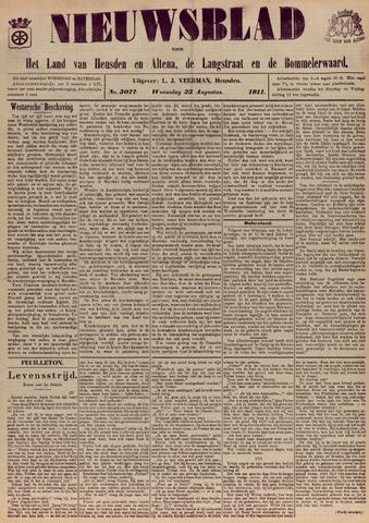 Nieuwsblad het land van Heusden en Altena de Langstraat en de Bommelerwaard 1911-08-23