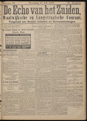 Echo van het Zuiden 1905-07-12