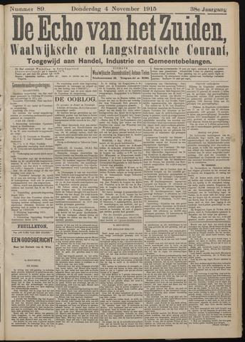 Echo van het Zuiden 1915-11-04