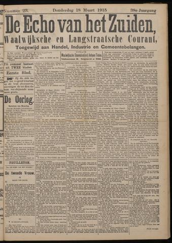 Echo van het Zuiden 1915-03-18