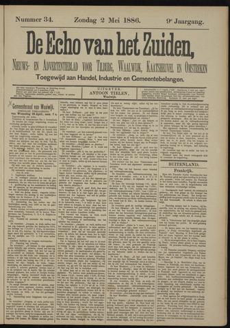 Echo van het Zuiden 1886-05-02