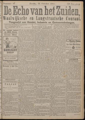 Echo van het Zuiden 1909-10-31