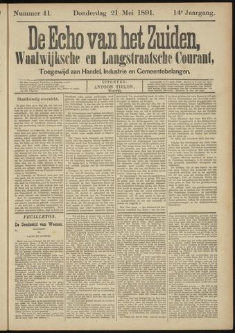 Echo van het Zuiden 1891-05-21