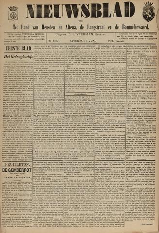 Nieuwsblad het land van Heusden en Altena de Langstraat en de Bommelerwaard 1895-06-01