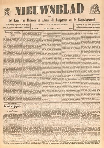 Nieuwsblad het land van Heusden en Altena de Langstraat en de Bommelerwaard 1904-12-07