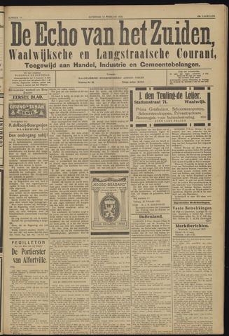 Echo van het Zuiden 1923-02-10