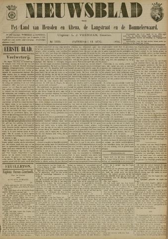Nieuwsblad het land van Heusden en Altena de Langstraat en de Bommelerwaard 1894-08-11