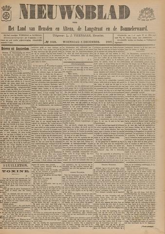 Nieuwsblad het land van Heusden en Altena de Langstraat en de Bommelerwaard 1897-12-08