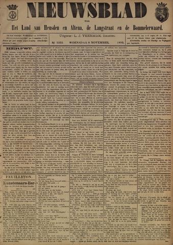 Nieuwsblad het land van Heusden en Altena de Langstraat en de Bommelerwaard 1893-11-08