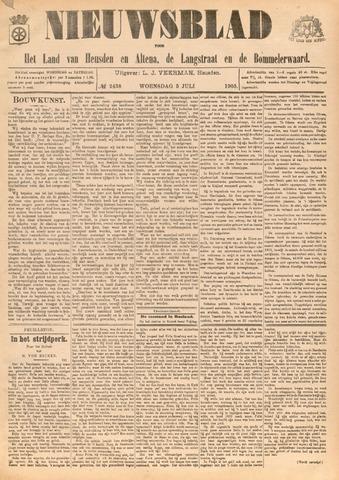 Nieuwsblad het land van Heusden en Altena de Langstraat en de Bommelerwaard 1905-07-05