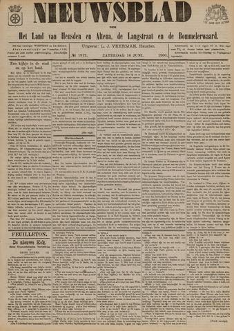 Nieuwsblad het land van Heusden en Altena de Langstraat en de Bommelerwaard 1900-06-16