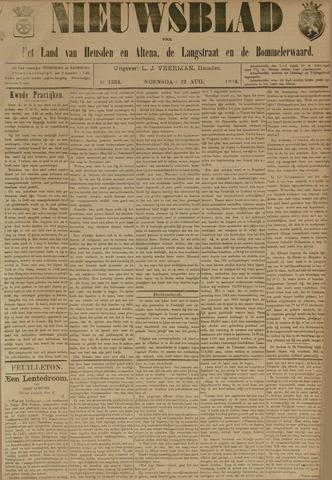 Nieuwsblad het land van Heusden en Altena de Langstraat en de Bommelerwaard 1894-08-22