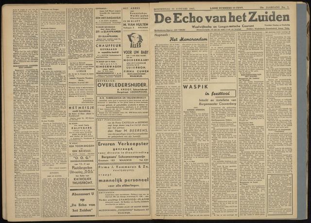 Echo van het Zuiden 1947-01-23