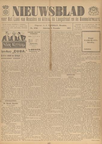 Nieuwsblad het land van Heusden en Altena de Langstraat en de Bommelerwaard 1917-11-03