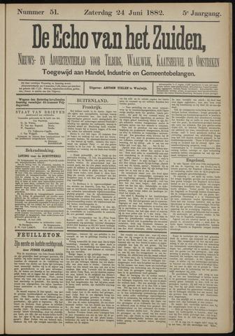 Echo van het Zuiden 1882-06-25