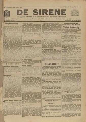 De Sirene 1945-06-11