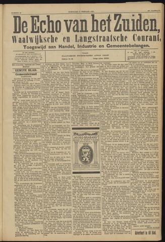 Echo van het Zuiden 1923-02-21