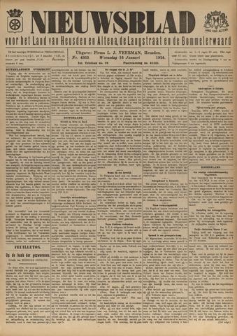Nieuwsblad het land van Heusden en Altena de Langstraat en de Bommelerwaard 1924-01-16