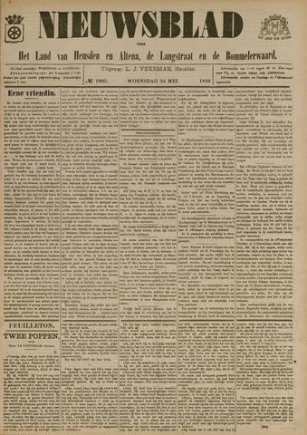 Nieuwsblad het land van Heusden en Altena de Langstraat en de Bommelerwaard 1899-05-24