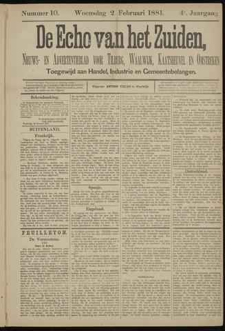 Echo van het Zuiden 1881-02-03