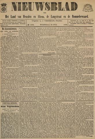 Nieuwsblad het land van Heusden en Altena de Langstraat en de Bommelerwaard 1899-07-26