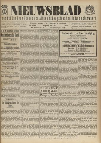 Nieuwsblad het land van Heusden en Altena de Langstraat en de Bommelerwaard 1923-07-20