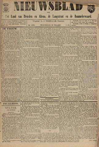Nieuwsblad het land van Heusden en Altena de Langstraat en de Bommelerwaard 1895-03-20