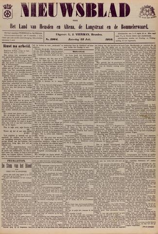 Nieuwsblad het land van Heusden en Altena de Langstraat en de Bommelerwaard 1910-07-23
