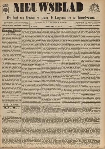 Nieuwsblad het land van Heusden en Altena de Langstraat en de Bommelerwaard 1901-08-17