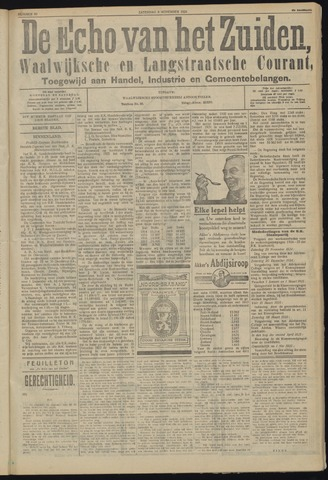 Echo van het Zuiden 1924-11-08