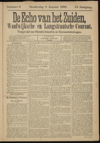 Echo van het Zuiden 1891-01-08