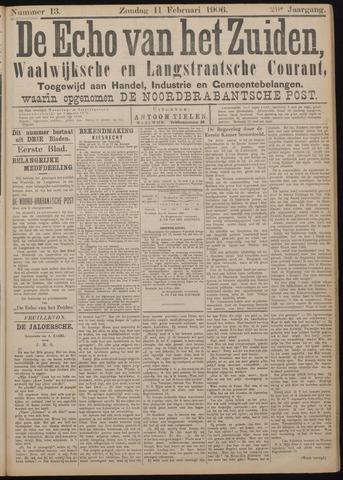 Echo van het Zuiden 1906-02-11