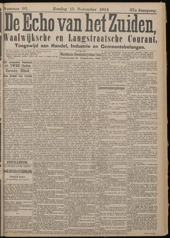 Echo van het Zuiden 1914-11-15