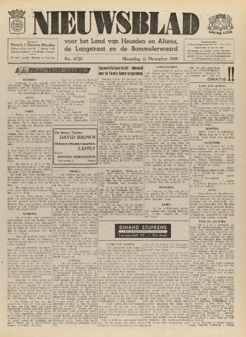 Nieuwsblad het land van Heusden en Altena de Langstraat en de Bommelerwaard 1949-12-12