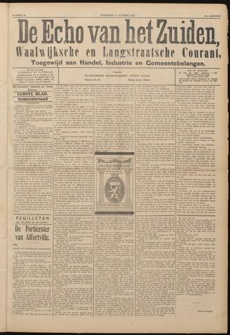 Echo van het Zuiden 1922-10-11