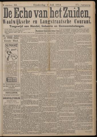 Echo van het Zuiden 1914-07-02