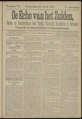 Echo van het Zuiden 1881-04-28