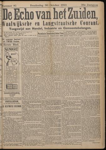 Echo van het Zuiden 1913-10-30