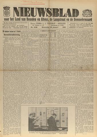 Nieuwsblad het land van Heusden en Altena de Langstraat en de Bommelerwaard 1941-01-29