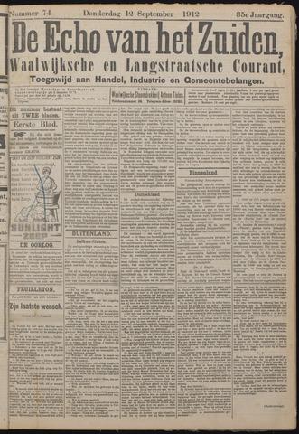 Echo van het Zuiden 1912-09-12