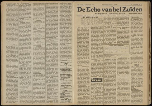 Echo van het Zuiden 1948-02-12