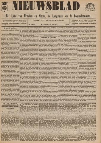 Nieuwsblad het land van Heusden en Altena de Langstraat en de Bommelerwaard 1899-12-20