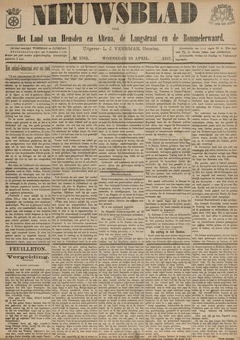 Nieuwsblad het land van Heusden en Altena de Langstraat en de Bommelerwaard 1897-04-28
