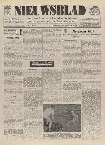 Nieuwsblad het land van Heusden en Altena de Langstraat en de Bommelerwaard 1949-09-19