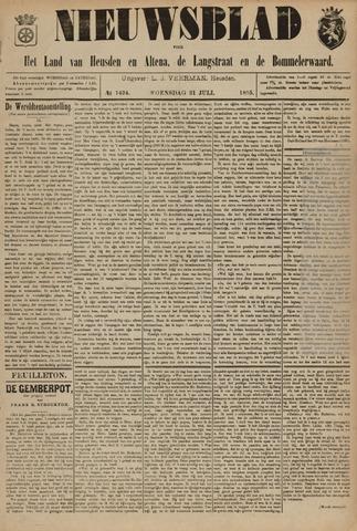 Nieuwsblad het land van Heusden en Altena de Langstraat en de Bommelerwaard 1895-07-31